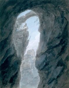 Ravine in the Campagna by John Robert Cozens, 1776-1783