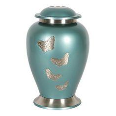 Decorative Cremation Urns Gorgeous Perfect Memorials Aluminum Keepsake Plum Garden ** This Is An Inspiration Design
