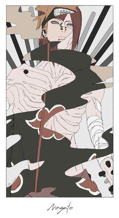 Akatsuki - Pain Nagato So realistic) Naruto Shippuden Sasuke, Anime Naruto, Manga Anime, Naruto And Sasuke, Itachi Uchiha, Yahiko Naruto, Naruto Wallpaper, Wallpaper Naruto Shippuden, Akatsuki