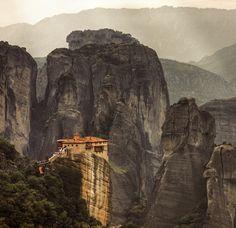 Meteora monasteries, Greece. By _skynet