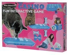 Dog Casino Interactive find treat game training for dogs and pups in training Brain Games For Dogs, Dog Games, Puzzle Toys, Cat Toys, Free Games, Cool Cats, Dog Bed, Pet Supplies, Dog Lovers