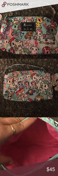 BNWT TOKIDOKI JUJUBE UNIKIKI 2.0 be quick pouch BNWT TOKIDOKI JUJUBE UNIKIKI 2.0 be quick large pouch tokidoki Bags Cosmetic Bags & Cases