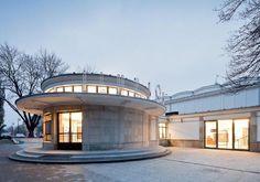 Circular Buildings, Modern Buildings, Amazing Architecture, Modern Architecture, Building Architecture, Building Design, Building A House, Circle House, Round Building
