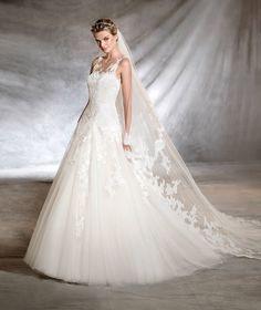 OLWEN - Abito da sposa in stile principessa