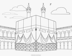 Islamic Coloring Pages Pdf Muslim Book Activities Art Mindful History — ObispaDodeJujuy Al Isra Wal Miraj, Photo Ramadan, Photos Islamiques, Colouring Pages, Coloring Books, Decoraciones Ramadan, Muslim Book, Ramadan Crafts, Ramadan Tips