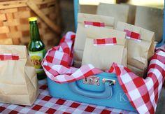 sweet little PB & J picnic