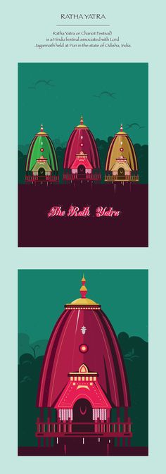 "Check out this @Behance project: ""Ratha Yatra Illustration."" https://www.behance.net/gallery/44856694/Ratha-Yatra-Illustration"