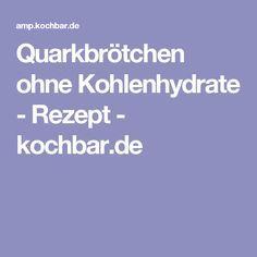 Quarkbrötchen ohne Kohlenhydrate - Rezept - kochbar.de