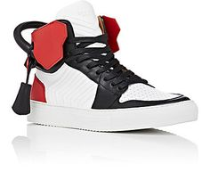 Buscemi 100MM Leather Sneakers - Sneakers - 504629307