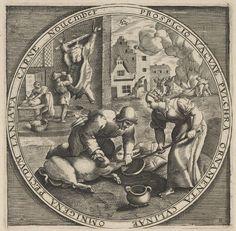 November, Anoniem, circa 1620 - 1650 | Museum Boijmans Van Beuningen