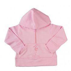 Regalos Moda Bebé. Sudadera Rosa.   Teleciguena.com
