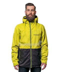 Pánská bunda Horsefeathers Crystal Two-Tone green/ black Rain Jacket, Windbreaker, Crystals, Green, Jackets, Black, Fashion, Outfits, Jacket