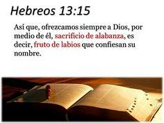 Resultado de imagen para HEBREOS 13:15