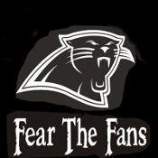 New Custom Screen  Carolina Panthers Fear Fans Blow Out Sale On All Screen Printed T-shirts!! NO MINIMUM ORDER FREE SHIP www.shop.dscreenprintedtshirts.com