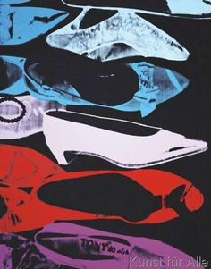 Andy Warhol - Diamond Dust Shoes (Parallel), 1980-81