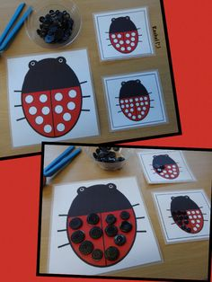 Free Ladybug Printables from Stimulating Learning with Rachel