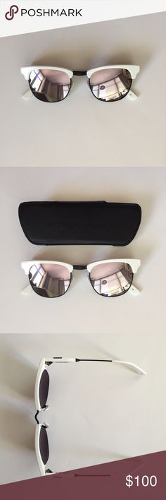 WESTWARD LEANING SUNGLASSES STYLE: VANGUARD 13 - OLIVIA PALERMO x WL. They are brand new and in perfect condition - the protective carrying case is included. Westward Leaning Accessories Sunglasses