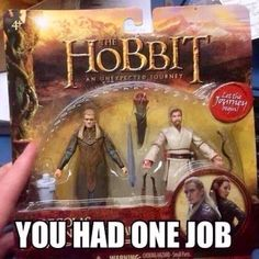 Although I'd rather have Obi-Wan than Tauriel any day!