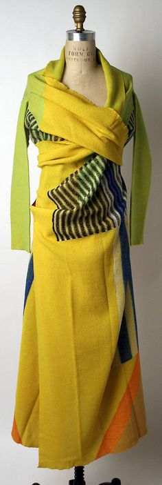 Dress Issey Miyake (Japanese, born 1938) Design House: Miyake Design Studio (Japanese) Date: fall/winter 1997–98 Culture: Japanese Medium: w...