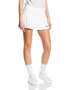 Looking for a fun skirt for that difficult match? This Nike skirt features Dri-FIT knit material, forward placed side seams, contoured flat waistband and built...