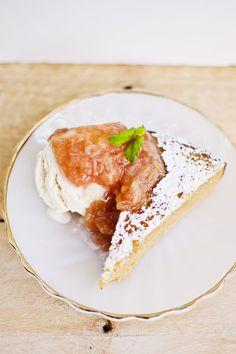 Recipe: Lemon Almond Yogurt Cake with Rhubarb Compote (Gluten-Free ...