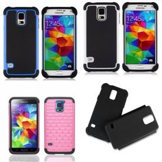 BUY 1 GET 2 FREE Dustproof Shockproof Durable New Hybrid Case Samsung Galaxy 5  #Other
