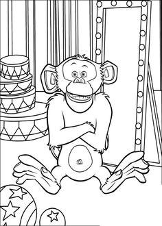 Madagascar Printable Activities For Kids Online Coloring Book 8