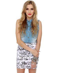 J'Adore skirt. #lovelulus