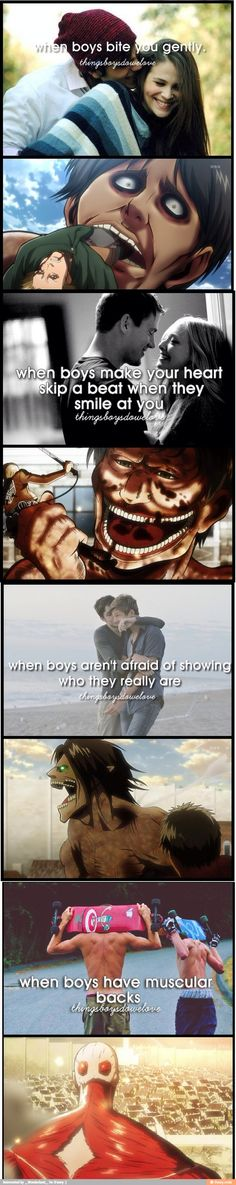 How to ruin hipster posts Level: SnK <----I love you random person that made this post.