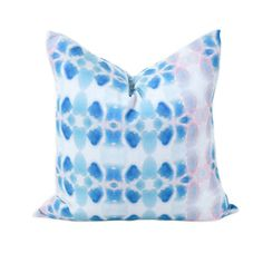 Bunglo Passion Flower Throw Pillow