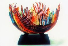A few years ago, I saw a dish that was woven from glass. I couldn't help but wonder aloud how it was done. The memory of that beautiful ...