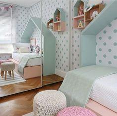 Allerlei muurbeschilderingen in de slaapkamer! Prachtig ...