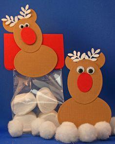 kittys craft: Kerst traktatie idee zelf gemaakt …rudolf de red nose rendier