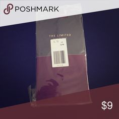 The Limited Opaque Maroon colored tights The Limited Opaque Maroon colored tights, size S/M. Condition new with tags, never worn. Color maroon/purple. The Limited Accessories Hosiery & Socks