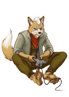 Star Fox by selena-goulding.deviantart.com on @deviantART