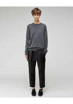 Alexander Wang / Peplum Front Tailored Pant | La Garçonne