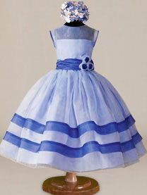 42 Ideas dress flower girl blue tutus for 2019 Cheap Flower Girl Dresses, Girls Blue Dress, Wedding Flower Girl Dresses, Little Girl Dresses, Trendy Dresses, Nice Dresses, Girls Dresses, Flower Girls, Winter Dress Outfits