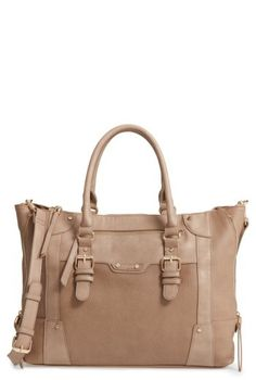 Sole Society 'Susan' Winged Faux Leather Tote - Brown #shopping  perfectpurse #style  #affliate