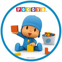 Pocoyo Decoracion Page 2 Posters Pictures 1st Birthday Party Themes, First Birthday Decorations, 3rd Birthday, Cake Pocoyo, Edible Printing, Ideas Para Fiestas, Baby Party, Childrens Party, Holidays And Events
