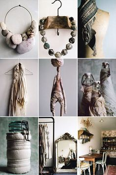Manon Gignoux has to be in textiles she is my textile hero Textile Texture, Textile Fiber Art, Textile Artists, Textile Jewelry, Fabric Jewelry, Textiles, Art Du Fil, Soft Sculpture, Fabric Art