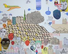 Nate Otto, Neighborhood connections, 2012 by drollgirl, via Flickr