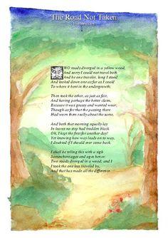 The Road Not Taken- Robert Frost