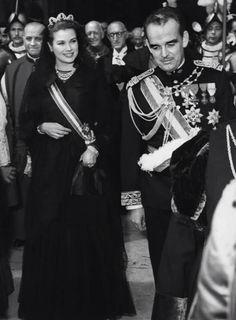 Princess Grace & Prince Rainier in The Vatican