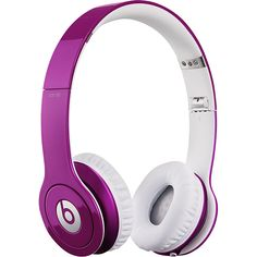 #ChristmasList Beats By Dr. Dre - Beats Solo High-Definition On-Ear Headphones - Bubblegum