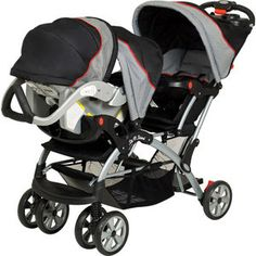 Baby Trend - Sit N Stand Plus Double Stroller, Millennium This would be perfect!