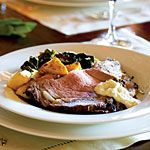 Salt- and Herb-Crusted Prime Rib with Fresh Horseradish Sauce Recipe | MyRecipes.com