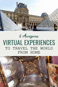 Being stuck in one place is tough on our mental health, but we recently discovered a list of virtual experiences that might just save our sanity. TripAdvisor has devised a way to help people explore the world while they stay home. Check out these 6 awesome virtual experiences so you can travel the world from the comfort of your home. | #lifeasmama #travel #stayhome #virtual #virtualtravel #global #virtualexperiences #tripadvisor