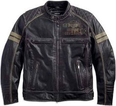 Men's Excam Warrior Leather Jacket