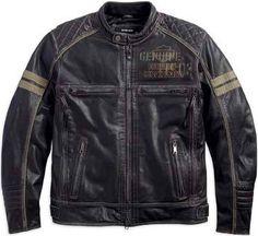 Men's Excam Warrior Leather Jacket