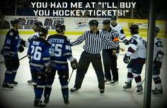 That's all it takes. Check it out!! Boys in Blue - Wichita Thunder!!!